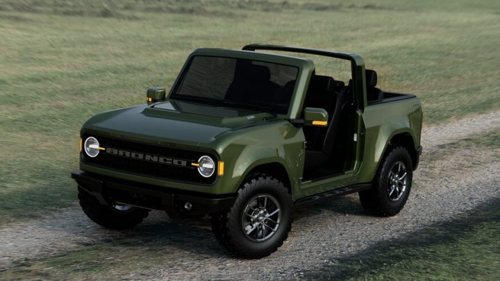 ford bronco cars that looks like a Jeep