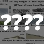 , Craigslist Search For The 4×4 Trucks Under $10,000