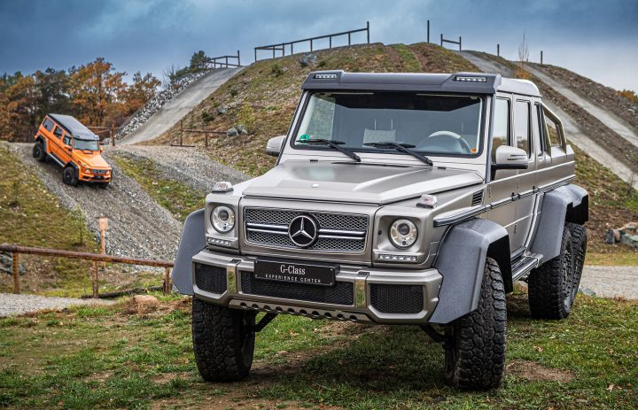 mercedes that looks like a jeep