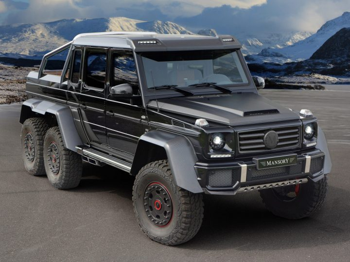 mercedes benz that looks like a jeep