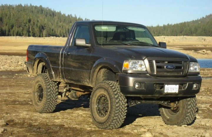 ford ranger that looks like a jeep