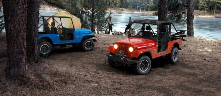 Mahindra Roxor one of the most blatant cars that look like Jeeps but aren't