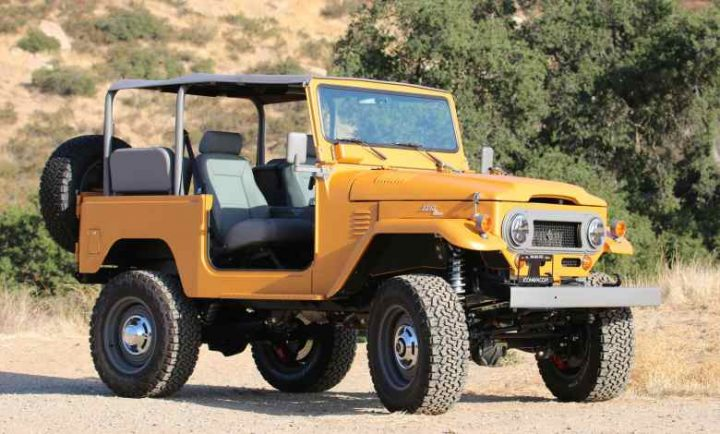 toyota truck that look like a Jeep