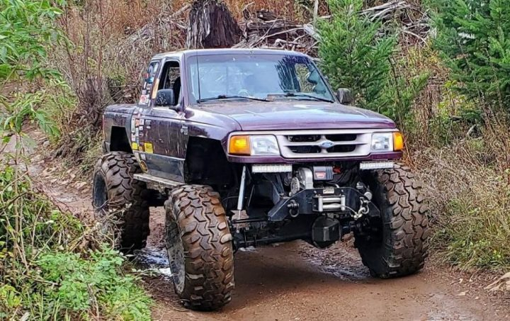 ford ranger or jeep wrangler off road