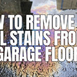 , How To Remove Oil Stains From Concrete Driveway. DIY Home Remedies