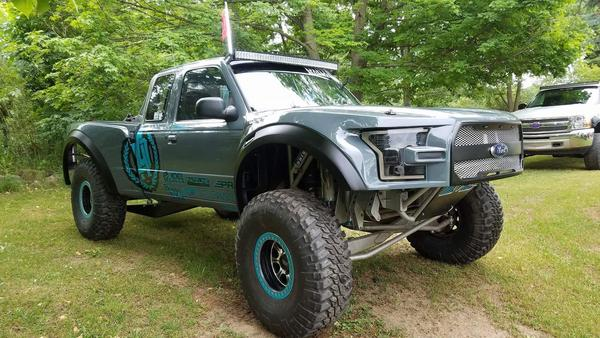 For Ranger Prerunner Offroad Racing Truck
