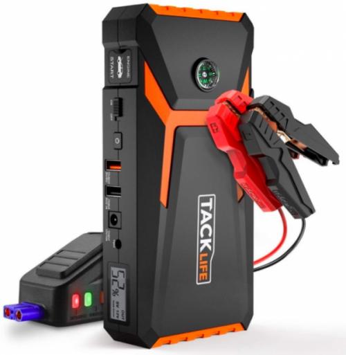 electric portable car battery jump starter