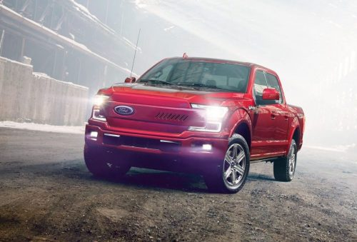 electric fors f150 rendering new front grill