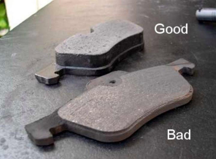 Good And Worn Break Pads Scaled