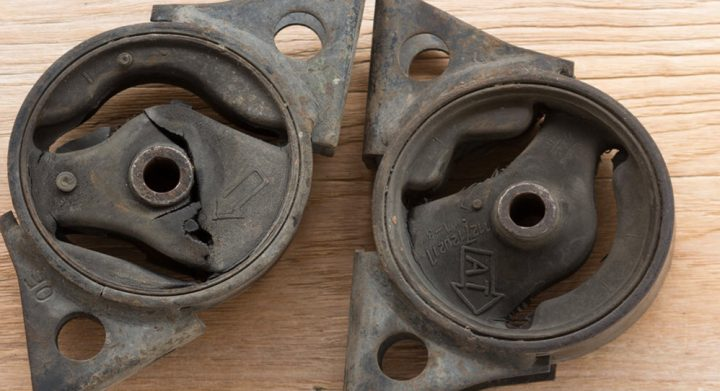 new and old motor mounts