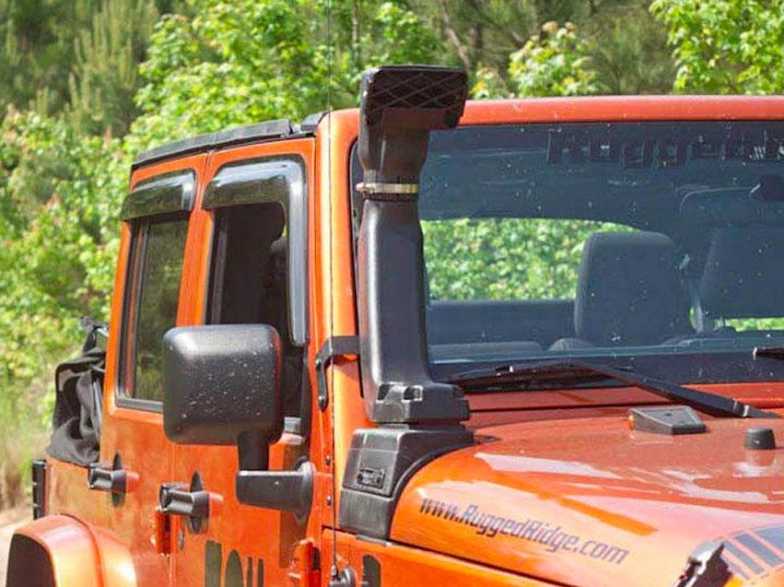 jeep snorkel to prevent hydrolock an engine