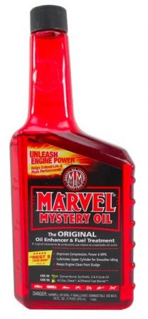 unseize engien with marvel mystery oil