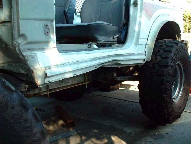 Rock Sliders Protect Your Truck Frame And Body