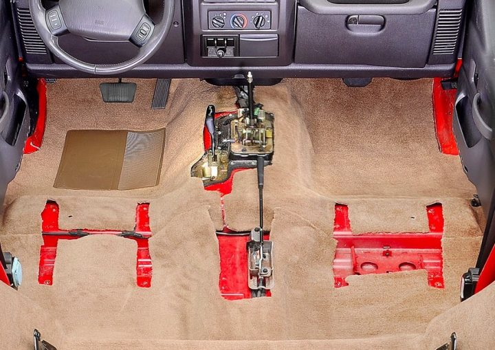 acc new jeep carpet change