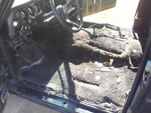 jeep wrangler dirty carpet replacement